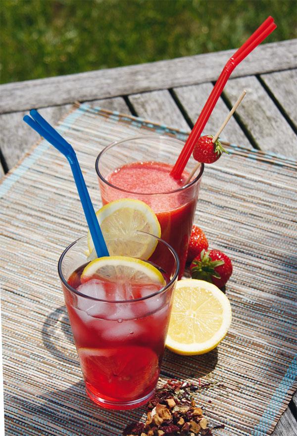 Früchte-Erdbeer-Smoothie