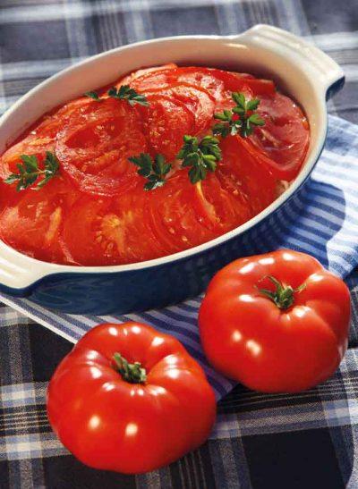 Risi-Pisi unter der Tomatenhaube